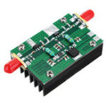 New 1MHz-1000MHZ 35DB RF Power Amplifier 3W HF VHF UHF FM Transmitter Broadband For Ham Radio
