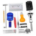 New 506Pcs Horologe Watchmaker Watch Link Pin Remover Case Opener Repair Tool Kit