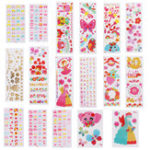 New Multi Pattern Art Cartoon Children Sticker Water Transfer Nail Art Tattoo Temporarily Nail Tips Decals Decor