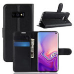 New PU Leather Wallet Kickstand Flip Protective Case For Samsung Galaxy S10 Lite 5.8 Inch