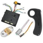New 24V 2.4GHz Electric Brushless Dual Motor Controller Skateboard Longboard W/ Remote ESC