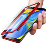 New Bakeey 360° Full Body PC Front+Back Cover Protective Case With Screen Protector For Samsung Galaxy A9 2018/A7 2018/A8 2018/A8 Plus 2018