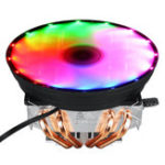New 3 Pin 12V 12cm Horizontal CPU Cooler CPU Cooling Fan for Intel LGA 1150/1151/1155/1156/1366/775 AMD Heatsink