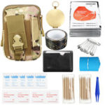New 185Pcs Survival Tools Kit Emergency Survival Kit Multi-Tools First Aid Supplies Survival Gear EDC Gadget Tool Set  for Camping Hiking Hunting SOS