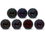 New Racing Car Turbo/Boost/EGT Exhaust/Temp/Oil Pressure Gauge Meter 7 Colors