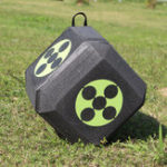 New 23*23*23cm Archery Target Polyhedral 3D High Density Self Healing Foam Cube