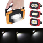 New IPRee® 30W USB LED COB Outdoor Portable Work Light Camping Emergency Lantern Flashlight Spotlight Searchlight