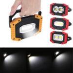 New IPRee® 30W USB LED COB Outdoor Portable Work Light Camping Emergency Lantern Flashlight Spotlight Searchlight