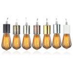 New E27 Retro Vintage Edison Ceramic Screw Round Shape Bulb Adapter Hang Lamp Holder Light Socket Fitting