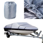 New 20-22FT 600D Beam Waterproof Heavy Duty Trailerable Marine Boat Cover
