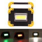 New 20W COB LED Work Light Portable USB Lamp Floodlight Outdoor Camping Emergency Lantern