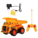 New Xuezhishan Toys 1011 4WD 5CH Wireless Rc Car Flashing Construction Dump Truck Excavator Bulldozer