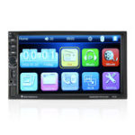 New 7 Inch 2 Din Touch Screen Multimedia HD Radio Car MP5 Player With Bluetooth Function