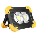 New 20W COB LED Work Light Portable USB Floodlight Outdoor Camping Emergency Lantern