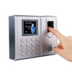 New M&G AEQ96706 Simple Face Recognition Attendance Machine Fingerprint, Fingerprint, Human Speech Check-In Machine