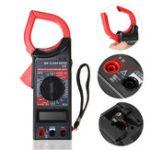 New DT266 Electronic Digital Clamp Meter Multimeter AC DC Current Volt Tester Tool