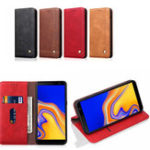 New Bakeey Magnetic Flip Protective Case For Samsung Galaxy A7 2018/A9 2018 Wallet Card Slot Kickstand Cover