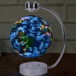New 8 Inches Magnetic Levitation Floating Globe Constellation Light Desk Lamp Decor Toy