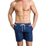 New Fitness Sport Quickly Dry Mesh  Board Shorts
