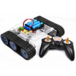 New SN7500 DIY 2.4G Smart RC Robot Tank Car STEAM Educational Robot Kit