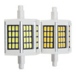 New 78MM Non-dimmable R7S SMD5733 Warm White Pure White 36 LED Light Bulb AC110V AC220V