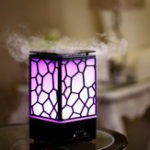 New Water Cube Aromatherapy Machine Humidifier Aroma Diffuser Ultrasonic Aromatherapy Mist Maker for Home Office Kids