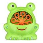 New Automatic Bubble Machine Big Frog Bubble Maker Blower Music Bath Toy For Kids