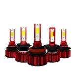 New 70W 7000LM LED Car Headlights Bulb Fog Lamp H4 H7 H8/H9/H11 9005 9006 DC9-36V White 2PCS