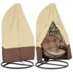 New Durable Waterproof Outdoor Hanging Egg Swing Chair Covers Dust-Proof Protector