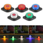 New LED Side Marker Lights Clearance Indicator Lamp 1.6W 24V 5-Colors for Truck Trailer Bus