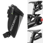 New ROCKBROS Bicycle Rear Seat Saddle Tail Bag Outdoor Cycling Camping Bike Storage Bag Pouch