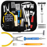 New KALOAD 168PCS Precision Watch Repair Hand Tools Kit Set Spring Bar Adjustable Case Opener Forceps Link Pin Watch Band Remover