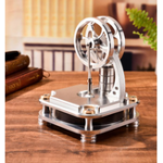 New STEM Low Temperature Difference Stirling Engine Alloy Study Model Toy Gift Collection Science