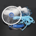 New 3M Hand Throw Fishing Net Spin Bait Sign Casting Network Hand Sinker Small Mesh
