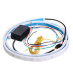 New 1.2m LED Car Tail Trunk Tailgate Strip Light Brake Driving Signal Flowing Lamp