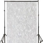 New 3x5FT 5x7FT Vinyl Silver Star Shining Glitter Photography Background Backdrop Studio Prop