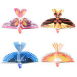 New 10.6Inches Electric Flying Flapping Wing Bird Toy Rechargeable Plane Toy Kids Outdoor Fly Toy