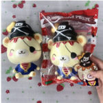 New Yummiibear Creamiicandy Pirate Squishy Slow Rising Toy With Original Packing Gift Collection
