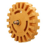 New  21mmx99mm Rubber Eraser Wheel Decal Removal Eraser Wheel 4 Inch Pneumatic Tools Rubber Replacement Accessories