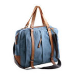 New Men Canvas Crossbody BagMulti-carry Shouler Bag Handbag