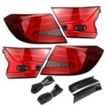 New Car Rear LED Tail Brake Light Lamps Assembly Red Pair for Honda Accord 2018+