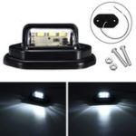 New 12V LED License Plate Lights Interior Step Lamp For Car Truck Trailer Pickups RV