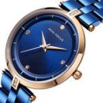 New MINI FOCUS MF0120L Casual Style Full Steel Women Wrist Watch