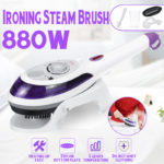 New 220V 880W Clothes Portable Steam Iron Home Handheld Fabric Laundry Steamer Brush Travel