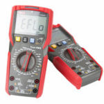 New UNI-T UT89X/UT89XD 6000 Count Digital Multimeter True RMS Automatic Backlight Multimeter NCV/Condensator/Triode/Temperatuur Tester