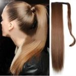 New Long Straight Ponytail Synthetic Hair Extension