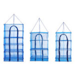 New 3/5 Layers Hanging Drying Net Beef Vegetable Food Mesh Dryer Shelf Storage Rack