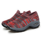 New Mesh Breathable Cushioned Walking Sneakers For Women