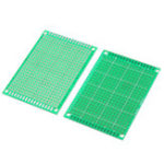 New 10pcs 5x7cm FR-4 2.54mm Single Side Prototype PCB Printed Circuit Board