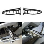 New Pair Motorcycle Front Turn Signal Lights Cover Protector Guard for BMW R1200GS ADV F800GT